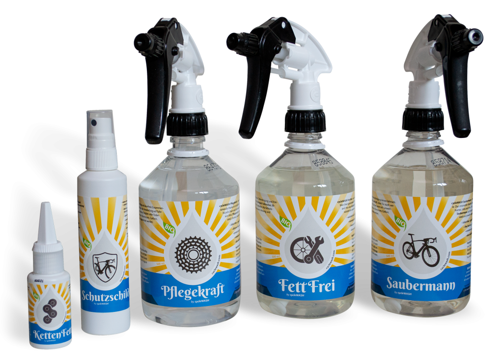 cycleWASH care product line