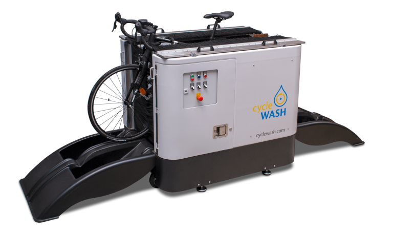 cycleWASH mini duo with bike