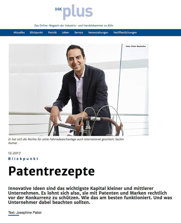 IHK plus Patentrezepte: Patente