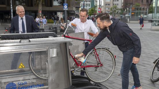 Fahrrad-Wäsche gratis