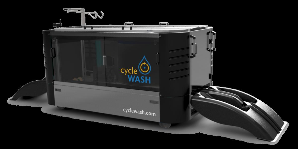 cycleWASH Pro Silver-Black