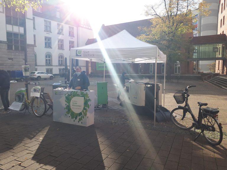 Fahrradwaschanlage als Besuchermagnet