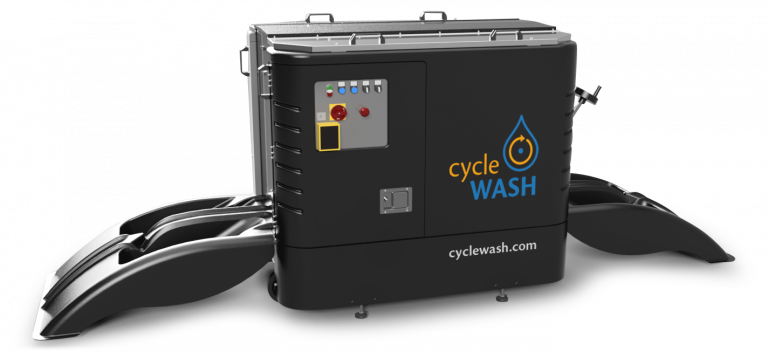 bicycle cleaning system cycleWASH mini Black