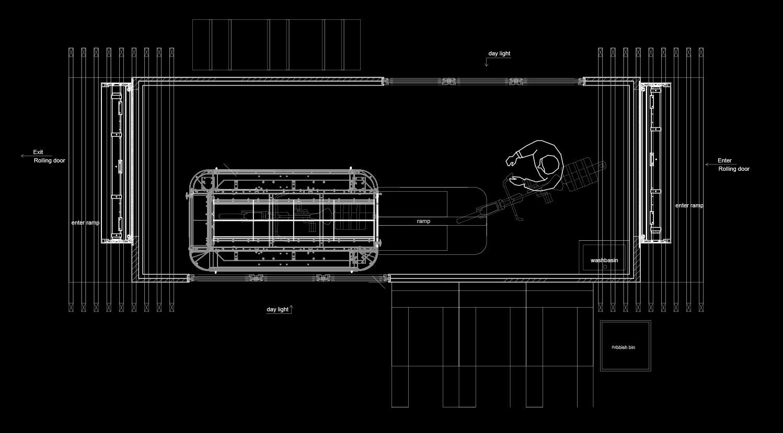 cycleWASH POINT 20 floor plan