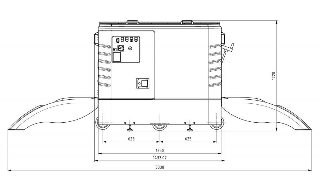 cycleWASH mini sketch side