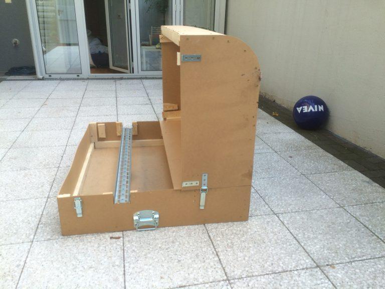 cycleWASH Holz-Modell