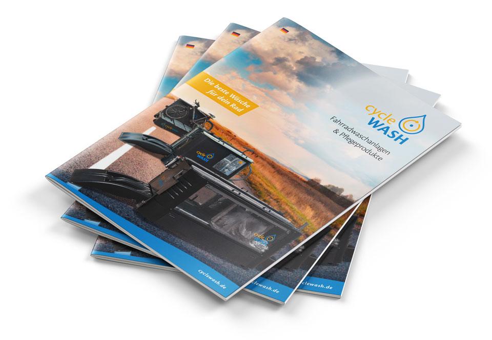 cycleWASH Brochure Stack