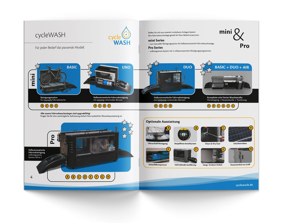 cycleWASH overview of bicycle washing systems & equipment