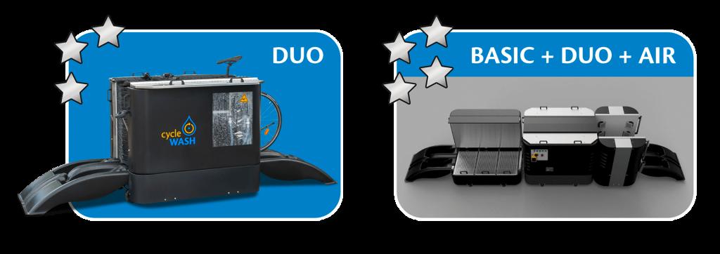 cycleWASH mini Modules DUO & Serie