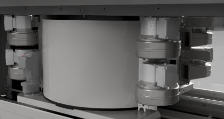 Dryer unit AIR – radial fans