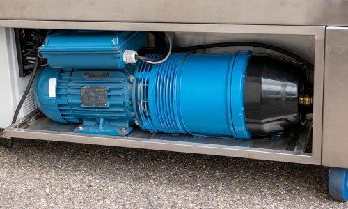 Integrierter Hochleistungs-Schaufelkompressor